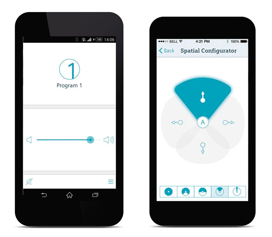 Signia Touch Control App
